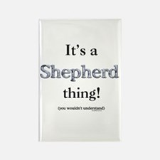 Shepherd Thing Rectangle Magnet