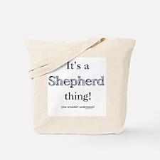Shepherd Thing Tote Bag