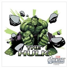 Hulk Slam Wall Art Poster