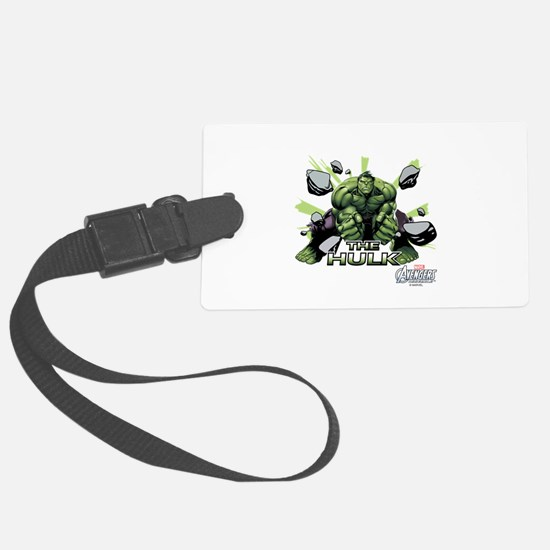 Hulk Slam Luggage Tag