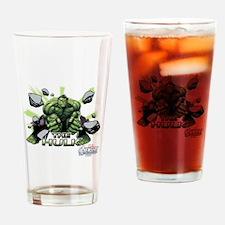 Hulk Slam Drinking Glass