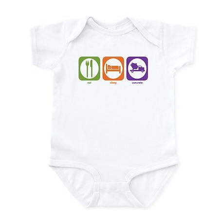 Eat Sleep Concrete Infant Bodysuit
