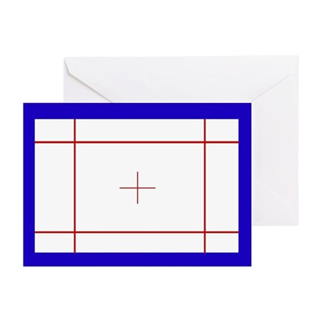Trampoline Bed Greeting Cards (Pk Of 10)
