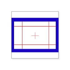 "Trampoline Bed Square Sticker 3"" x 3"""