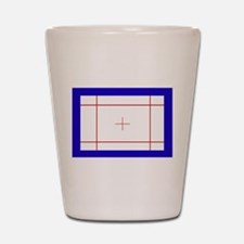 Trampoline Bed Shot Glass