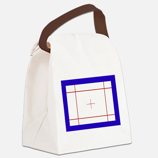 Trampoline Bed Canvas Lunch Bag