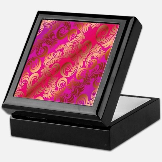 Chic Heat Copper Glow Ipad 3 Folio Keepsake Box
