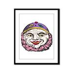 Killer Clowns Framed Panel Print