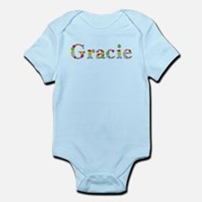 Gracie Bright Flowers Body Suit