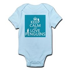 Keep Calm and Love Penguins Body Suit