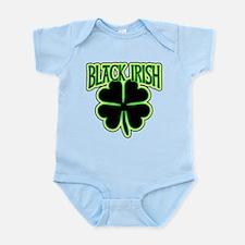 Black Irish with Huge Shamrock Infant Bodysuit