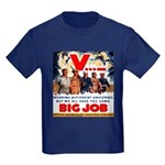 Same Big Job Kids Dark T-Shirt