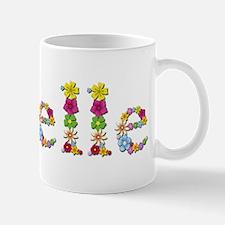 Giselle Bright Flowers Mugs