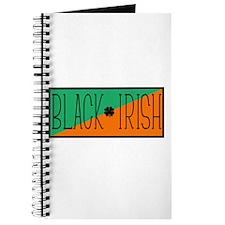 Black Irish Green and Orange Journal