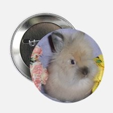 """Lionhead Rabbit 2.25"""" Button (10 pack)"""