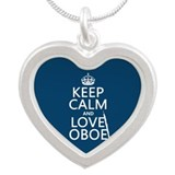 Oboe necklaces Heart