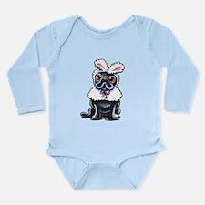 Grumpy Pug Bunny Body Suit