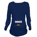 Lil Brother (Dark Skin) Long Sleeve Maternity T-Sh