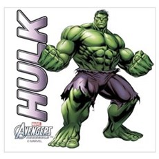 The Hulk Wall Art Poster
