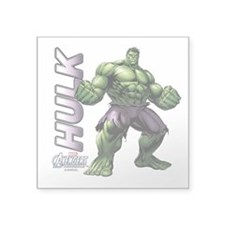 "The Hulk Square Sticker 3"" x 3"""