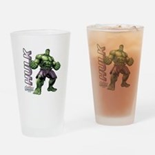 The Hulk Drinking Glass