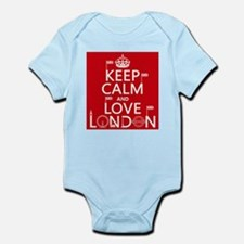 Keep Calm and Love London Body Suit
