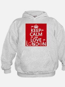 Keep Calm and Love London Hoody