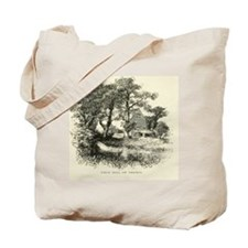 Vintage England Mill Tote Bag