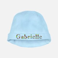 Gabrielle Bright Flowers baby hat