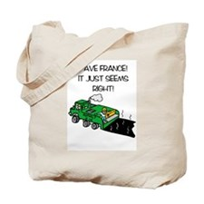 PaveFrance Tote Bag