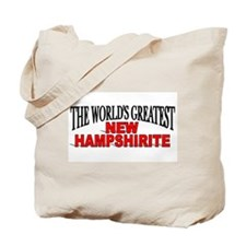 """The World's Greatest New Hampshirite"" Tote Bag"
