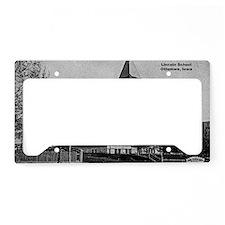 Lincoln School License Plate Holder