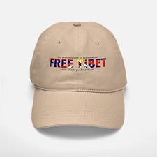 For A Free Tibet: Baseball Baseball Cap