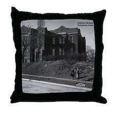 Hedrick School Throw Pillow