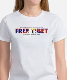 For A Free Tibet: Tee (f&B)