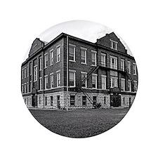 "Jefferson School 3.5"" Button"