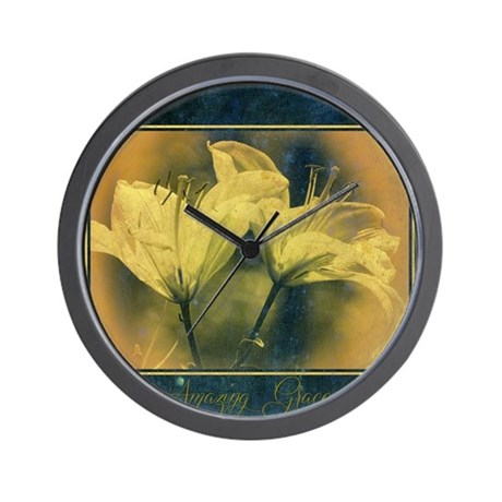 Amazing Grace Wall Clock By Admin Cp59133934