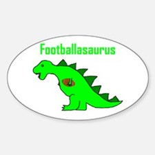 Footballasaurus Decal