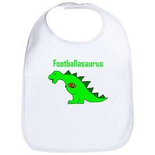 Footballasaurus Bib