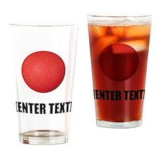 Kickball Personalize It! Drinking Glass