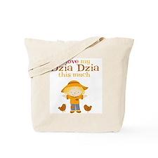 Scarecrow I Love Dzia Dzia Tote Bag