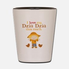 Scarecrow I Love Dzia Dzia Shot Glass