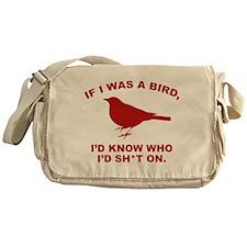 If I Was A Bird Messenger Bag