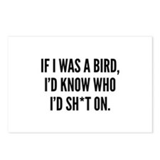 If I Was A Bird Postcards (Package of 8)