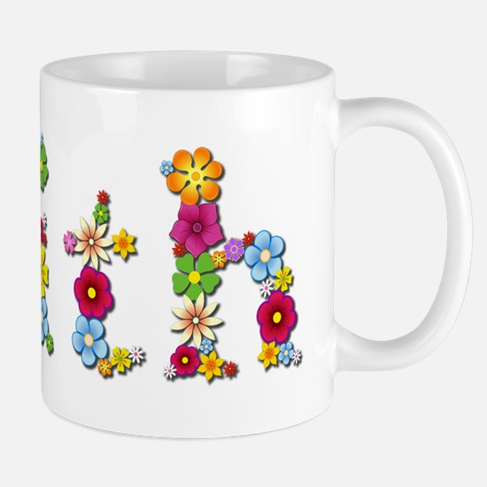 Faith Bright Flowers Mugs