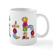 Faith Bright Flowers Mugs