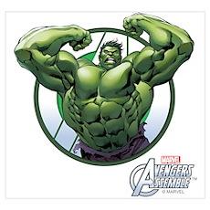 The Incredible Hulk Wall Art Poster