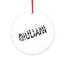 Rudy Giuliani 2008 Ornament (Round)
