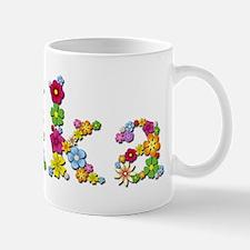 Erika Bright Flowers Mugs