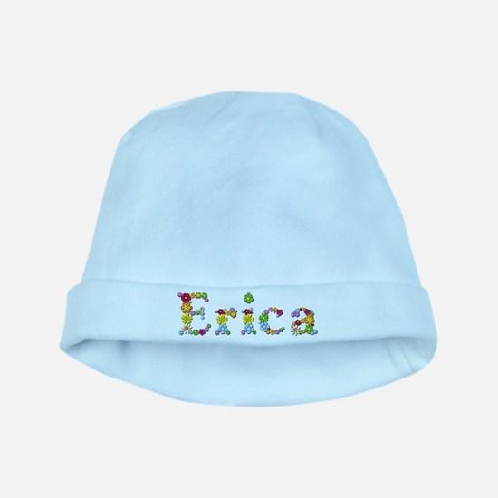 Erica Bright Flowers baby hat